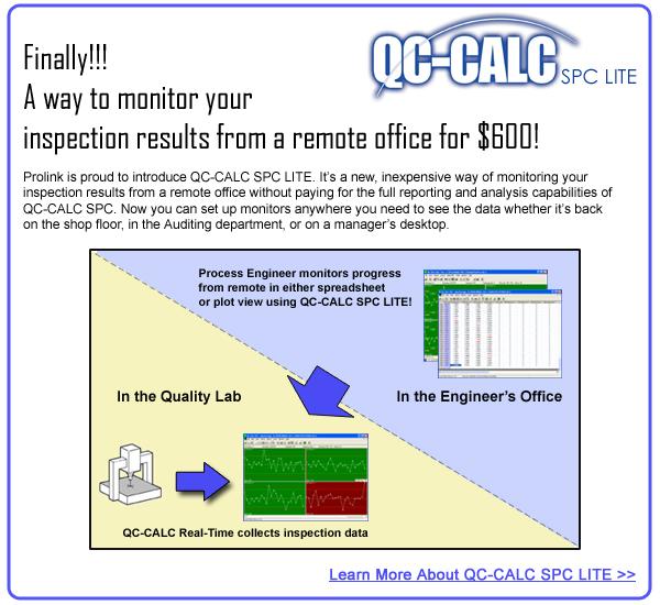 Introducing QC-CALC SPC LITE